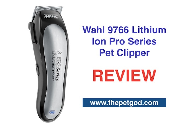 wahl 9766 lithium ion pro series pet clipper